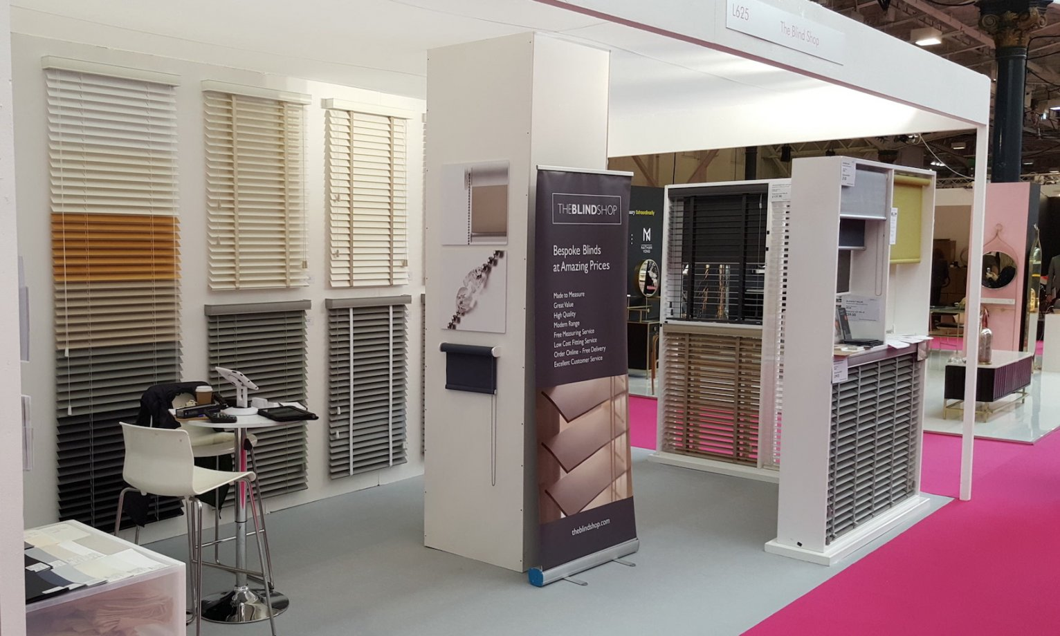 Modern Exhibition Stand Price : The blind shop made to measure blinds exhibitions contemporary