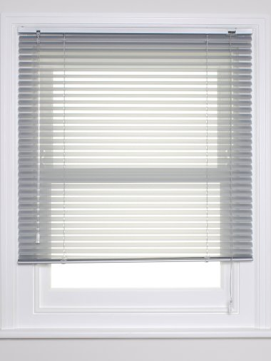 Aluminium Metal Venetian Blind Perforated Finishes The