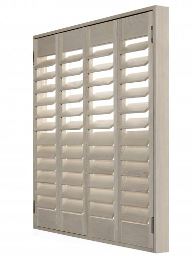 Wood Shutters Made To Measure The Blind Shop