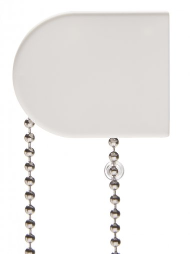 Roller blind chain stop device